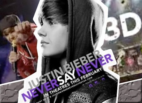 Justin Bieber on Justin Bieber  Film 2011 Never Say Never  Un Video Concerto Biografico